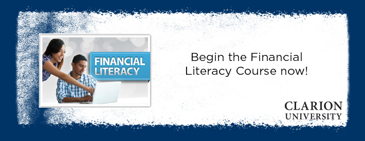 financial literacy banner