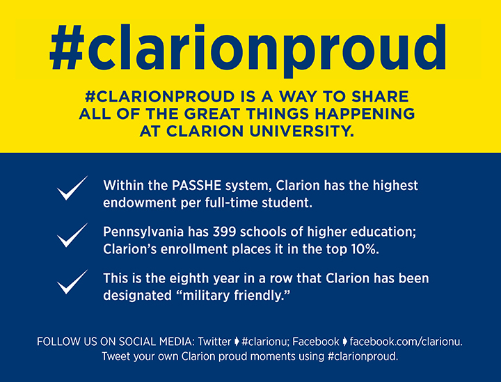 ClarionProud facts for March 8 2017