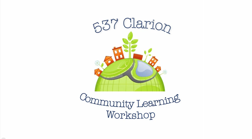 Clarion Community Learning Workshop