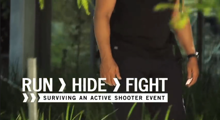 Run. Fight. Hide Video