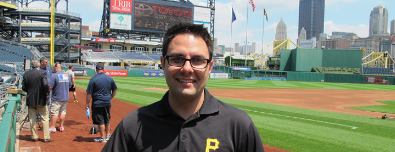 pnc park with dan