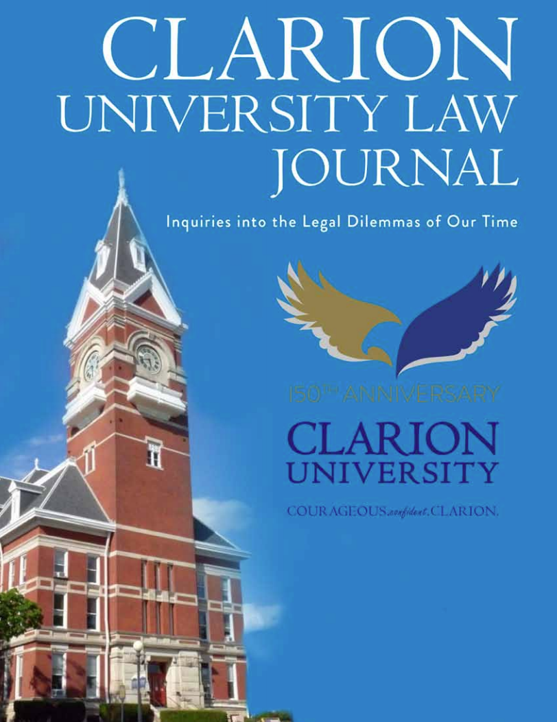 First Clarion law journal